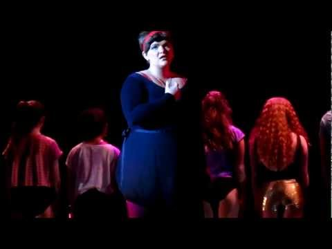 Nora Davenport as Diana Morales sings Nothing from A Chorus Line.MOV