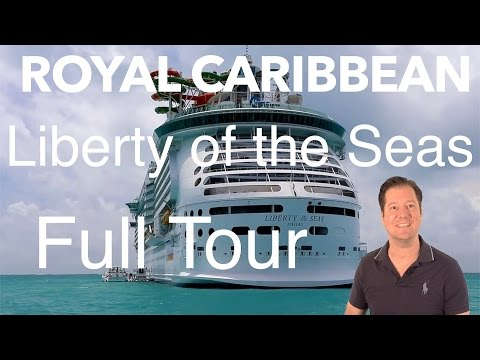 Liberty of the Seas Review - Full Walkthrough - Cruise Ship Tour - Royal Caribbean