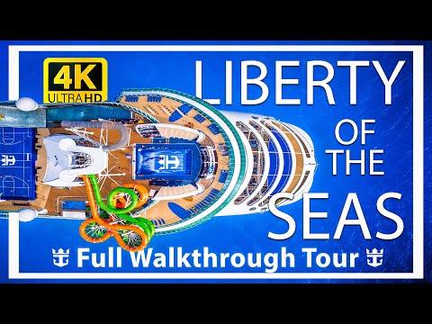Liberty of the Seas Review - Full Walkthrough - Cruise Ship Tour - Royal Caribbean