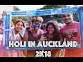 Holi In Auckland 2K18   emFLASH Vlog