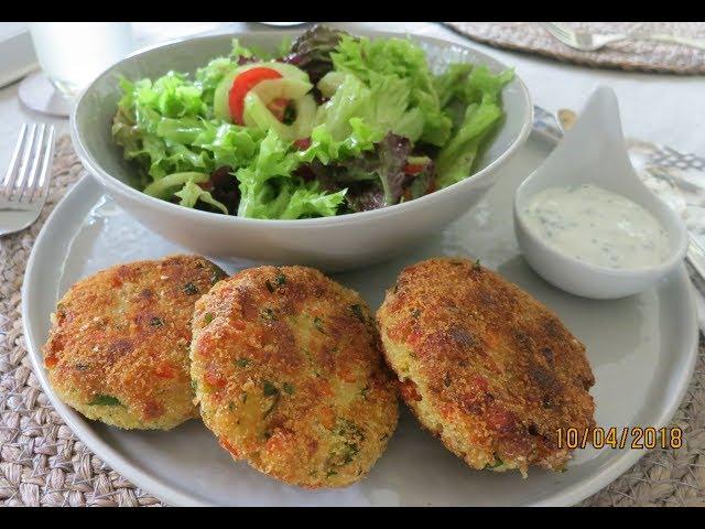Grieß - Kartoffel - Laibchen