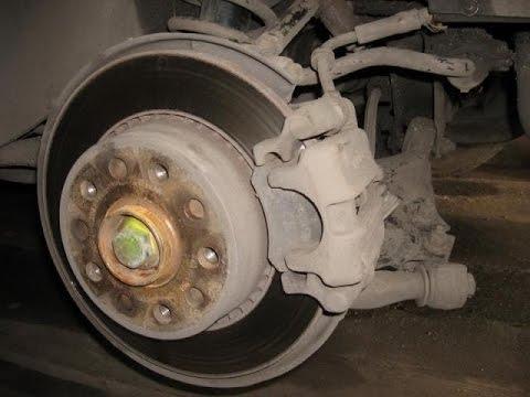 Переборка задних тормозных суппортов Audi А100/S4Ленивый автовладелец.