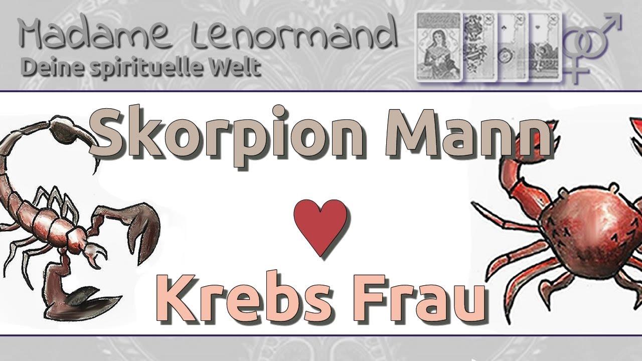 Skorpion Mann & Krebs Frau: Liebe und Partnerschaft - YouTube