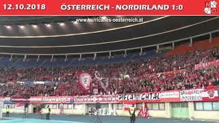 Österreich - Nordirland // Austria - Northern Ireland 1:0, 12.10.2018 (Hurricanes)