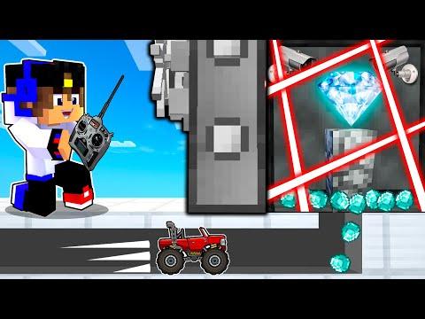 Майнкрафт но МЫ с Девушкой ВОРЫ ограбили БАНК Челлендж в Майнкрафте Троллинг Ловушка Minecraft