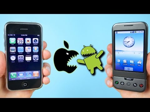 Thumbnail: First iPhone vs First Android Phone! (iOS 1.0 vs Android 1.0)