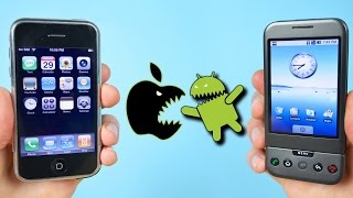 First iPhone vs First Android Phone! (iOS 1.0 vs Android 1.0)