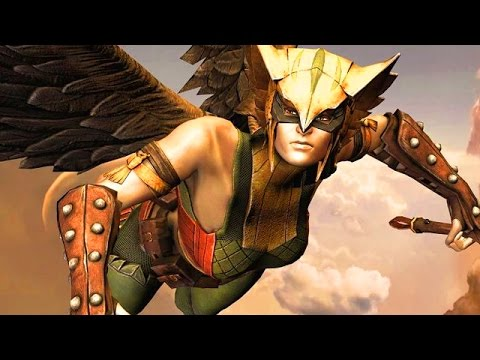 "Injustice: FLYING WITH BIRD LADY - Injustice ""Hawkgirl"" Gameplay STAR Labs Missions"