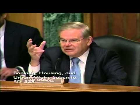 Sen. Menendez Talks to FEMA Admin Fugate About Hypocrisy in the Claims Process
