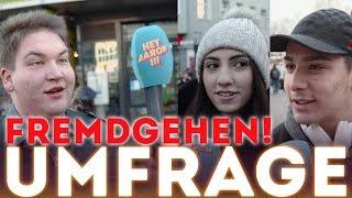 STRASSENUMFRAGE !!! Fremdgehen & Peinlichkeiten