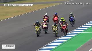 [REPLAY] Underbone 150cc Race 1 Highlights - 2018 Rd1 Thailand
