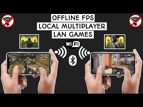 Top 10 FPS Offline Local Multiplayer Android And IOS Games 2020 (Lan,Blutooth,WiFi)