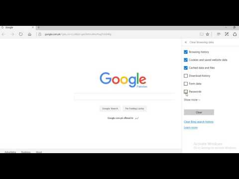 How to Clear history in Internet Explorer Windows 10
