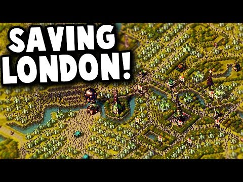 Saving ZOMBIE INFESTED London! | They Are Billions '28 Years Later' Custom Map Gameplay