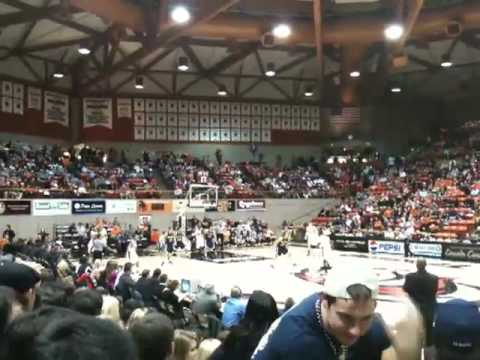 UC Davis Aggies at Pacific Tigers Big West Basketball Game 1/23/10!