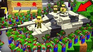 😱Нашли военную базу! ТАМ ЖЕСТЬ! [ЧАСТЬ 17] Зомби апокалипсис в майнкрафт! - (Minecraft - Сериал)