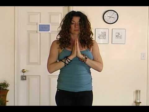 Introduction to Yoga, Posture 1: Half Sun Salutation