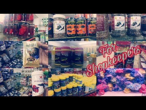 Fish Food In Wholesale For Shopkeepers | BeSt Aquarium Wholesale And Dealers | Bangalore