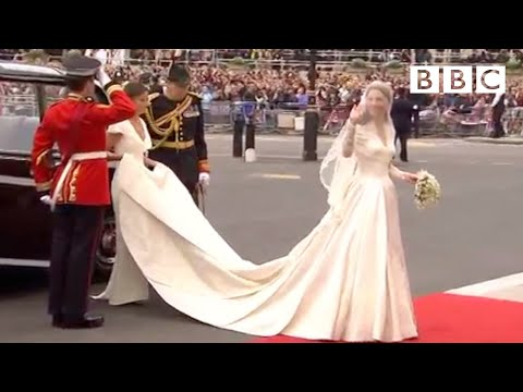 Kate Middleton's Wedding Dress Revealed  The Royal Wedding  BBC
