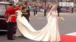 Kate Middleton's Wedding Dress Revealed - The Royal Wedding - BBC