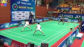 Đây có xứng đáng là trận chung kết sớm giải cầu lông Ciputra Hà Nội 2019 | Badminton Highlights