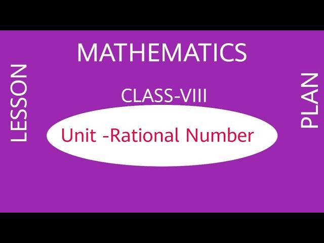 Math lesson plan class 8