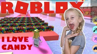 Roblox 🍭 Candy Land Obby. I love Candy| SuzieGamePlay