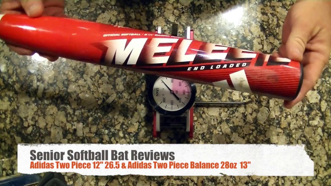 Senior Softball Bat Reviews (Adidas Two Piece 12