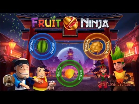 Fruit Ninja - Android Gameplay