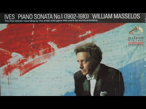 Charles Ives, William Masselos – Piano Sonata No.1 (1967) RCA Victor Red Seal – LM 2941