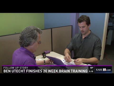 Ben Utecht on Kare 11 - Finishing 20 Weeks of Brain Training