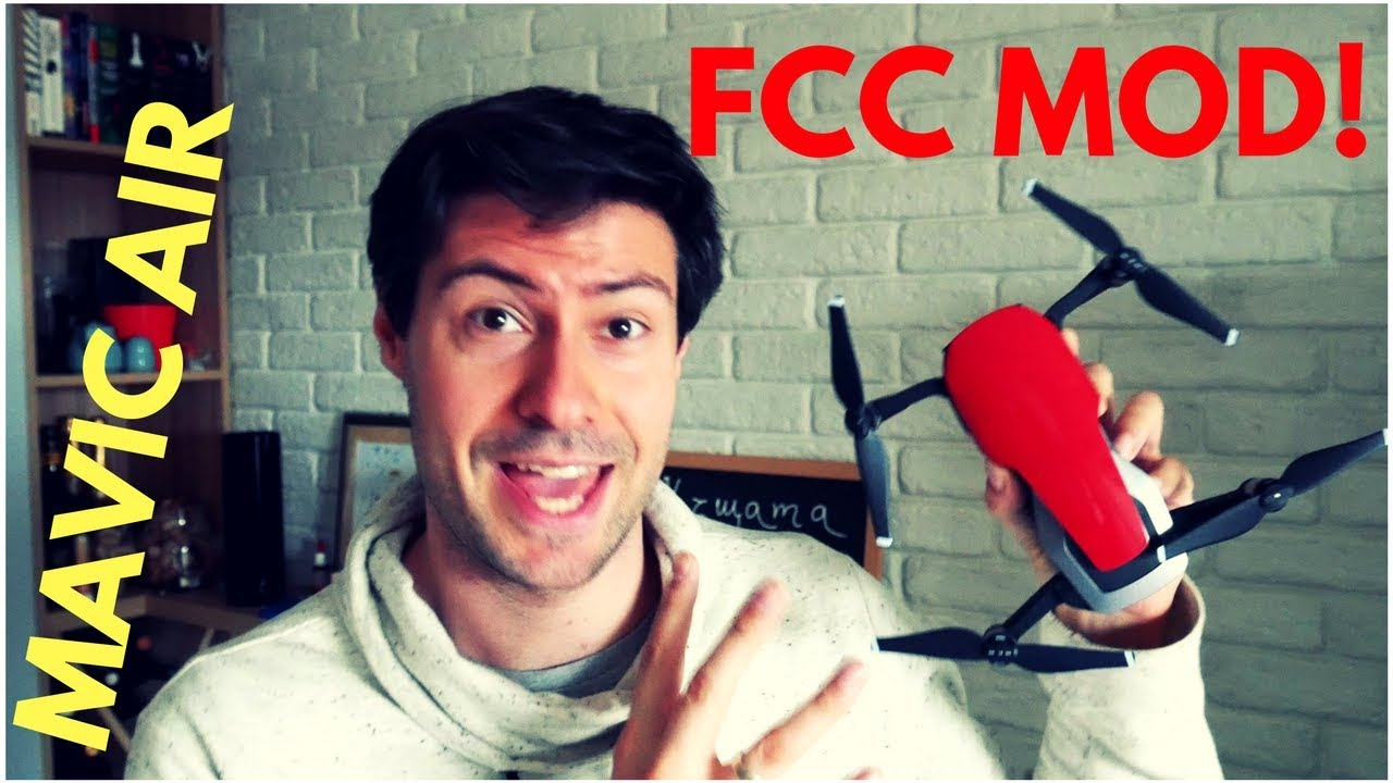 DJI Mavic Air FCC Hack: Switch to FCC Mode in 2 Minutes!