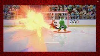 Mario & Sonic at the 2014 Olympic Winter Games - Ice Hockey