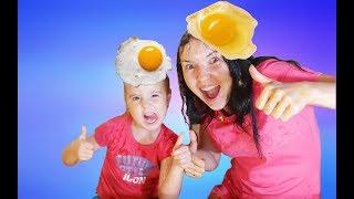 Challenge Egg on the head