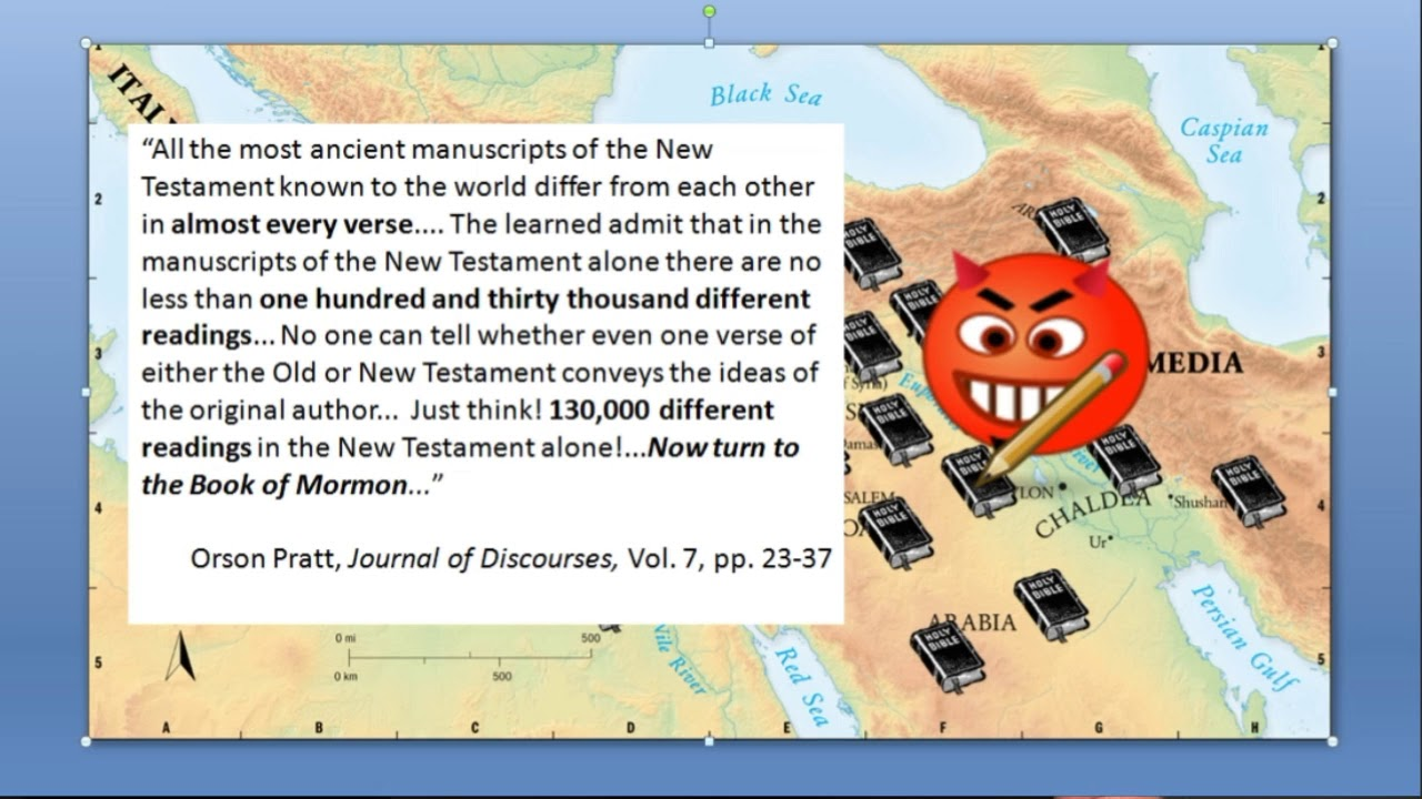 Has the Bible been corrupted  Part 3 The New Testament