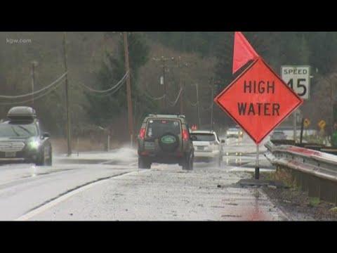 Weather Conditions Improving On Oregon Coast