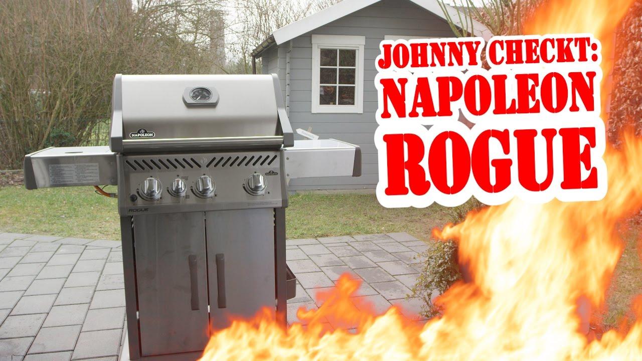 Napoleon Holzkohlegrill Test : Johnny checkt napoleon rogue youtube