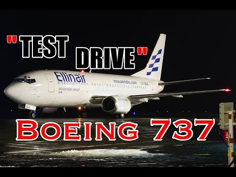 """Test-drive"" Boeing 737 ))"