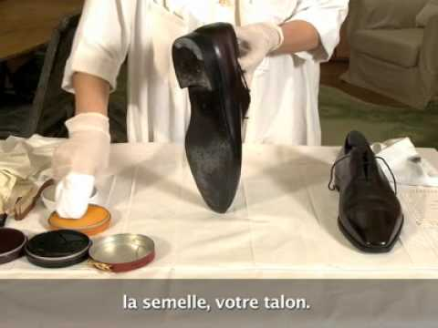 comment cirer ses chaussures selon berluti youtube. Black Bedroom Furniture Sets. Home Design Ideas
