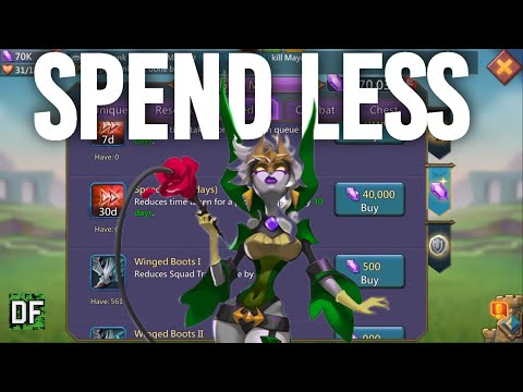 Lords Mobile - How To Trade Resources To Boost Your Account