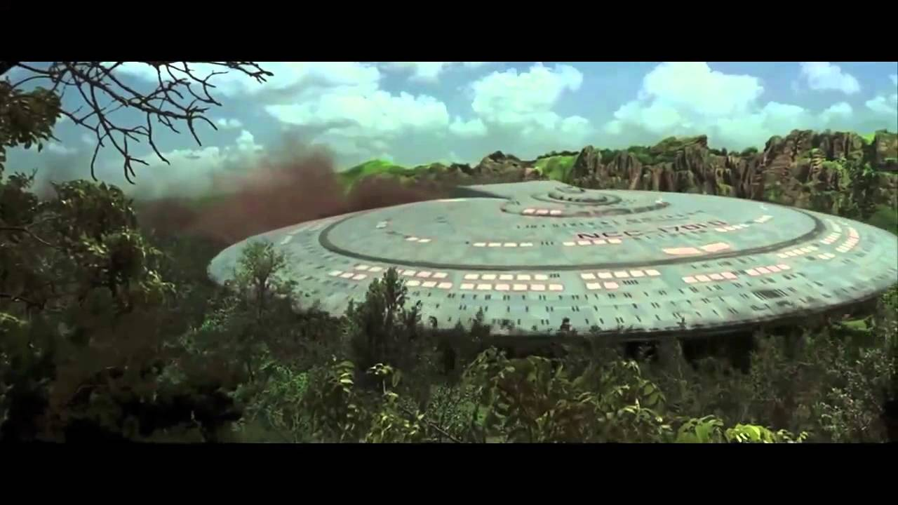 Star Trek Generations Ships Only Youtube