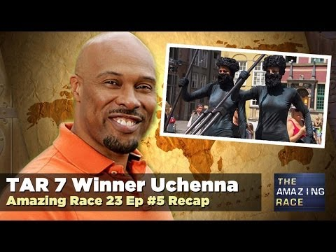 LIVE Amazing Race Recap with Uchenna at 10:15 pm ET