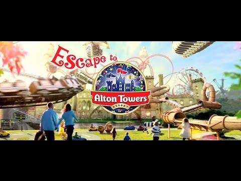 Alton Towers Adverts & Promotional Videos (1980 - 2017)