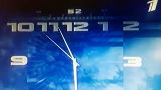 Заставка Часы Вести (Первый канал)