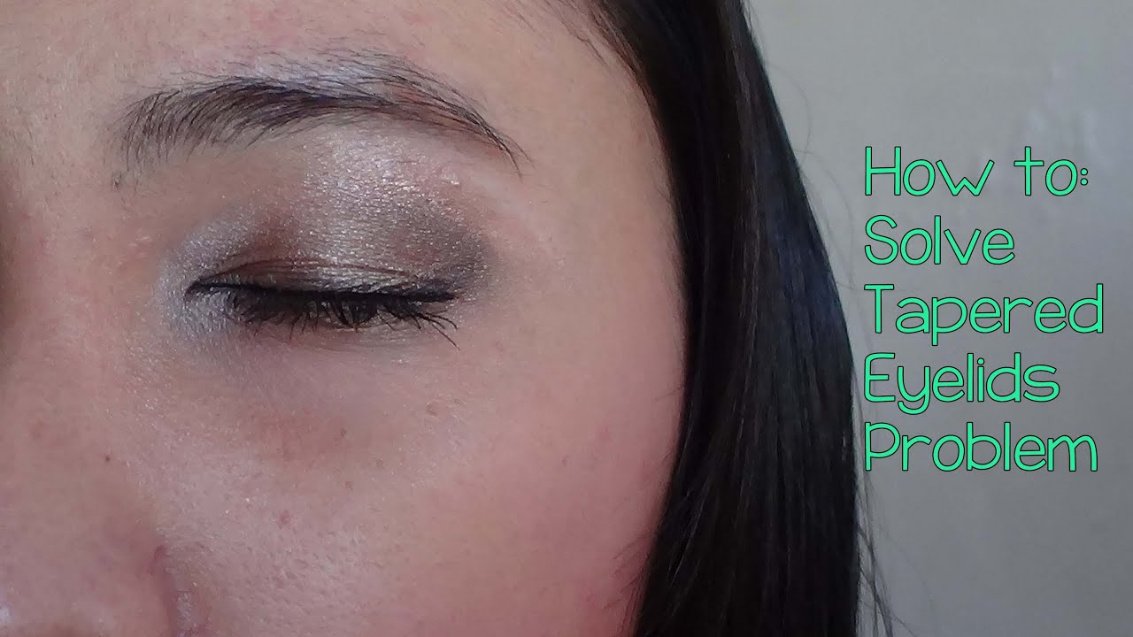 how to make eyelids even
