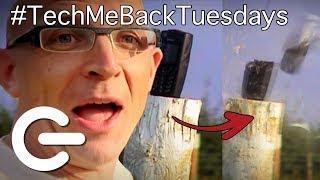 Bulletproof Nokia? Nokia 5140 vs Motorola V3X - The Gadget Show #TBT