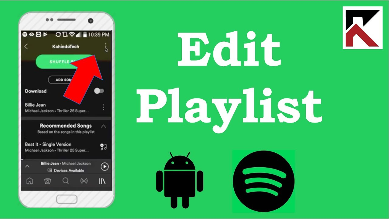 How To Edit Playlist Spotify Android