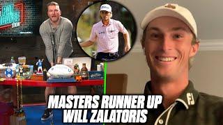Pat McAfee & Will Zalatoris Discuss The Masters, Happy Gilmore.
