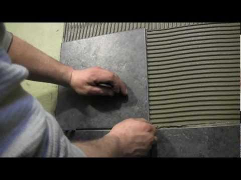 How to tile a shower wall- Cutting and Installing Wall Tile