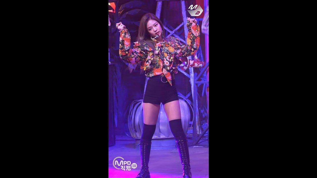 Mpd직캠 블랙핑크 제니 직캠 불장난 Blackpink Jennie Playing With Fire Fancam 엠카운트다운 161110